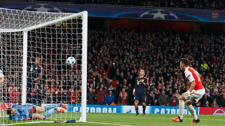 Champions League: Arsenal defeat Bayern as Barcelona win, Chelsea draw